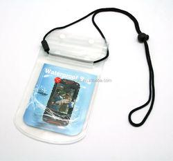 promotional sling bag mobile phone pvc waterproof bag