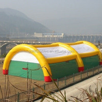 wholesale inflatable paintball arena/inflatable sport game