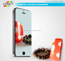 2015 new design high transparency mirror screen protector for iphone 6s