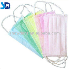 Non woven Disposable Face Mask / Surgical Face Mask (Ear-loop or Tie-On)