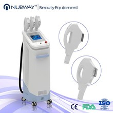 Fast selling multi function ipl laser with 3 hahndles