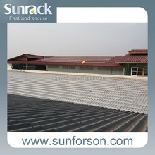 Tin Roof Photovoltaic Solar Mounting System