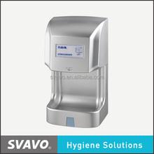 bathroom high speed automatic sensor jet air hand dryer hand blower