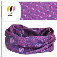Outdoor fish pattern multi-functional headwrap