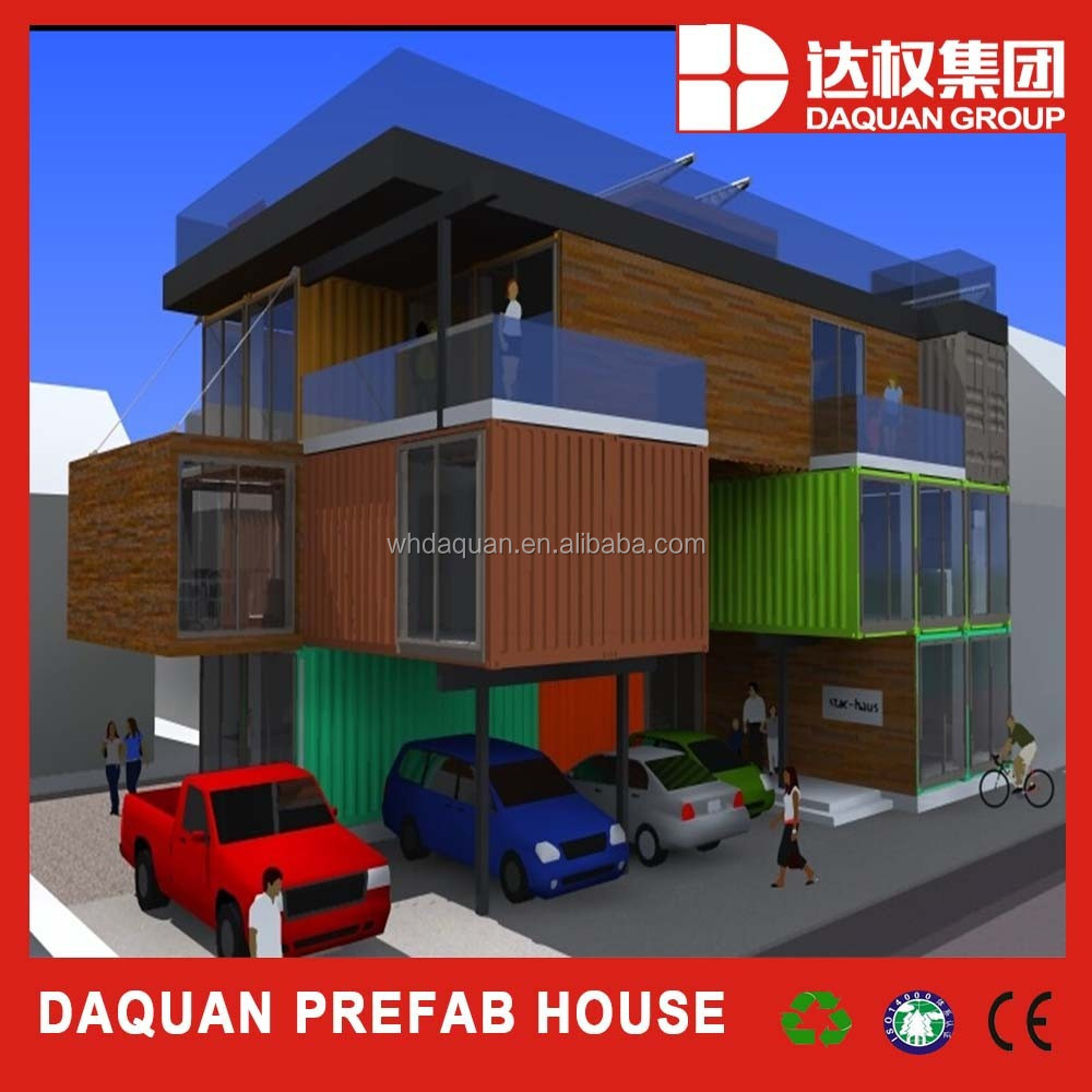 Promotion daquan high level villa modular container for Villa container