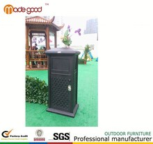 Bk-211 desperdiçar bin preço recipiente com rodas para cozinha de madeira de metal elétrica desperdiçar bin