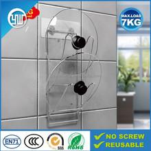 Magic flexible sticker kitchen metal pot cover holder & lid cover holder