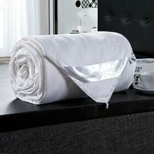 Handmade Mulberry Satin Stripe Silk Quilt/comforter/blanket/bedspreads( Fill 1 kg)