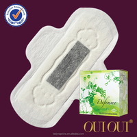 Super Absorbent Lady Care Lady Anion Sanitary Pads