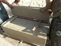 China granito amarelo escada stepstones