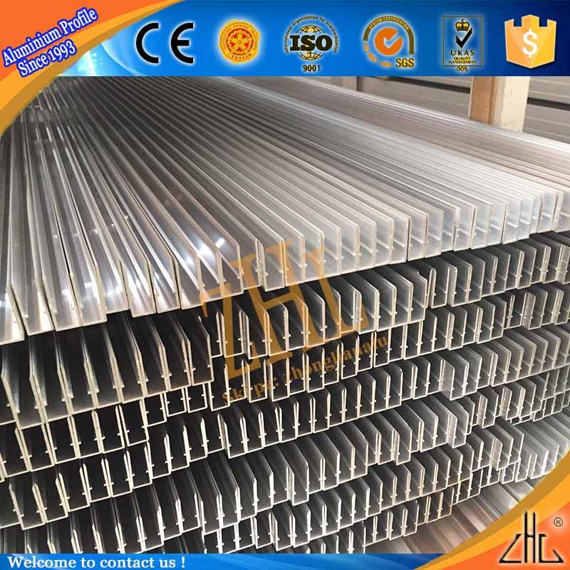 Caliente! perfiles de aluminio para gabinete de cristal grande al ...