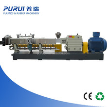 compounding extrusion machine for caco3 filler masterbatch