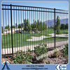 china supplier decorative garden fence, aluminum fence , prefabricated steel fence