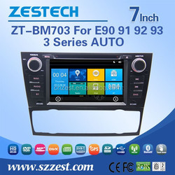 ZESTECH double din car radio for BMW e90 with 3G bluetooth gps tv