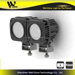 "popular motorcycle light, 9-50V Universal input voltage,10W 2"" mini led pod motorcycle light"