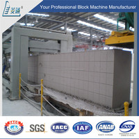 German technology 50000cubic aac blocks production line concrete machine plant and price