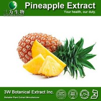 GMP Factory Wholesale Pineapple Stem Extract, Pineapple Extractor