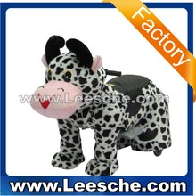 LSJQ-227 coin and battery operated walking mechanical animal ride for kids mall kiddie ride car on toy 2015