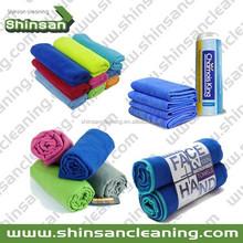 microfiber towels wholesale/microfiber cleaning towel/sport cooling towel