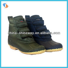 New Green/Navy Lace Up Ankle Boots Snow Boots