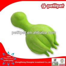 wholesale TPR/Rubber green chicken dog toy