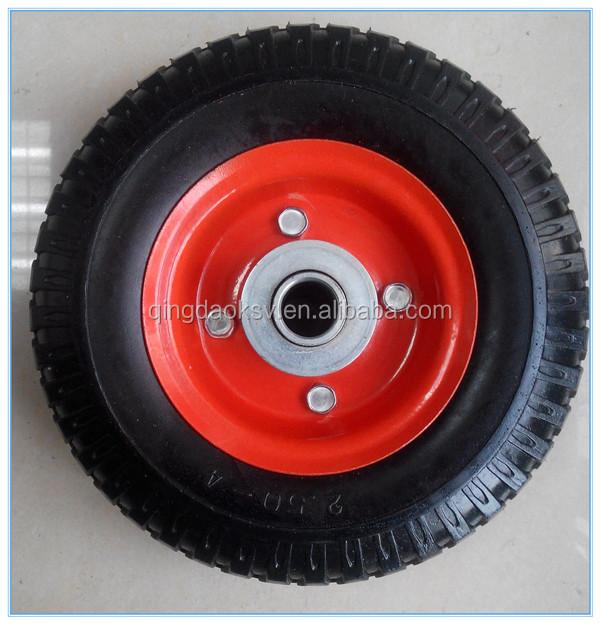 Hand Trolley Truck Tool Cart Flat Free Tire 200mm Pu Wheels - Buy 200mm Pu Wheels,200mm Pu ...
