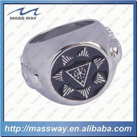 wholesale custom 3D championship plated silver brass ring