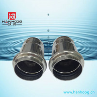 Best price stainless steel pipe cap threaded for drinking