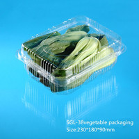 disposable plastic fruit and vegetables packaging materials
