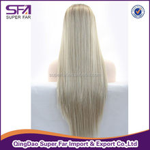 Modern Luxury Extra Long Wavy Cheap Synthetic Lace Wig about 26 Inches