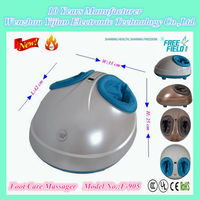 New Cute Eggs Shape foot Mssager with Air pressure squeez massage, Sterilization Foot Massager,F-905 foot massagers