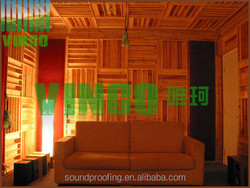 solid wood Material Suitable for Post production studios, Mastering studios, Practice rooms