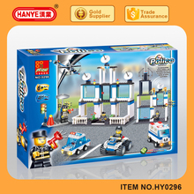 2015 police headquarters series 481PCS building blocks toy for boys