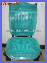 Discounted Plastic durable blue car spring seat cushion covers, car seat hardest covers PVC 30% off