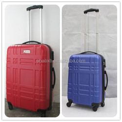 2015 newest most fashionable abs lightweight frame trolley case