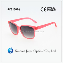 custom simple style red sunglass for women