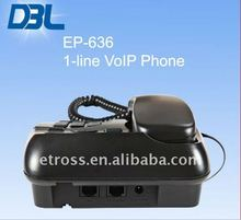 DBL VoIP Sip Phone for Business,Office,Home,Hotel Use EP-636 (With All Standard PBX Functions)