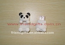 Cute best selling cheap plastic/pvc/rubber animal heads USB Case(Memory /Storage box)