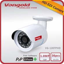 1080P 2.0Megapixel full hd sdi underwater bullet analog new module cctv camera