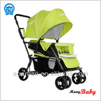 2015 newest china seebaby twinsbaby stroller/stroller baby carrier for two kids/twins baby carriage pram buggy manufuture