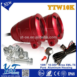 Y&T 10W light for motorcycle police motorcycle light for harly davidson, motorcycles