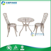 Wholesale Outdoor Portable Cheap 2 seat Coffee/Tea/Meeting Table And Chairs Set