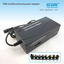 70w ac to dc multipurpose travel adapter for notebook