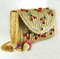 Good products womens straw handbag,bag with high quality