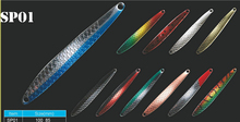 Lures for deep sea fishing swim bait fishing spoon