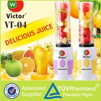 Victor vt-04 kitchen utensilsblender mixer food blender sponge blender motor fruit juice brand name juice filling machine