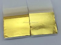 Furniture decoration film taiwan gilding gold leaf 9*9cm