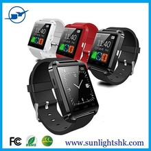 2015 bluetooth smart watch with Anti-lost and waterproof also pedometer function/Android bluetooth smart watch U8