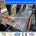 hoja de metal corrugado para techos
