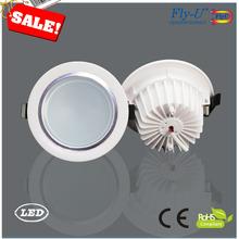 led down light/7w led ceiling down light/led lux down light